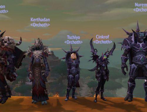 WoW Orchoth beim Mythic Dungeon International