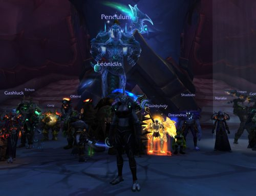 WoW Mythic EP Raid Progress
